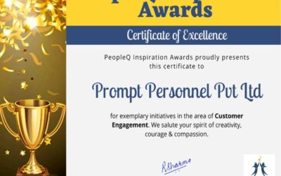 PeopleQ Award for Best Customer Engagement – Our Story