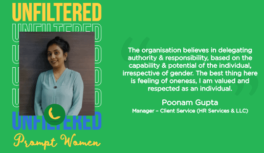 Unfiltered Perspective of Prompt Women | Gender Diversity & Inclusion at Workplace