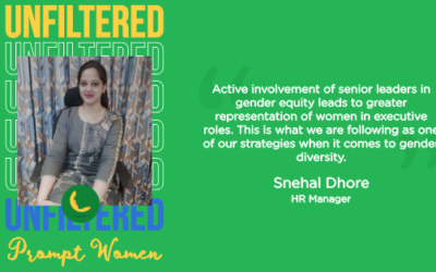 Unfiltered Perspective of Prompt Women | Gender Diversity & Inclusion at Workplace.